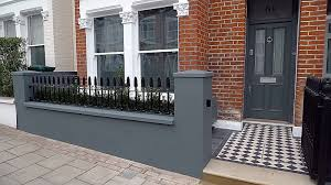 Front Garden Wall Designs Pictures