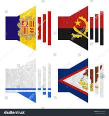 American Samoan Flag Nation Flag Sound Recycled Paper On Stock Illustration 416934493