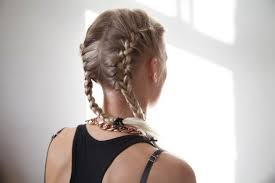 show pix of braid how to do two french braids on the side of your head leaftv