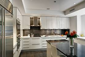 custom kitchen design contemporary white high gloss lacquer