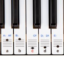 amazon com keysies transparent plastic removable piano and