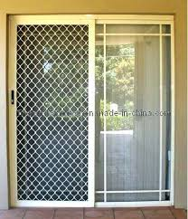 Secure Sliding Windows Decorating Security Front Door Screens Windows Secure Sliding Windows