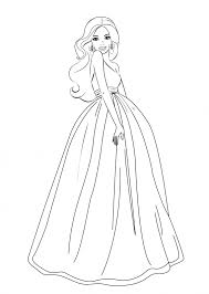barbie coloring pages free printable coloring pages kids collection