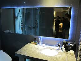 bathroom mirror with led lights bathroom mirror led lights everywhere very cool looking