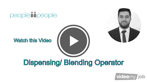 Machine Operator Job Description Dispensing Blending Operator Job Youtube