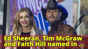 Faith Hill Meme - ed sheeran tim mcgraw and faith hill named in lawsuit over the