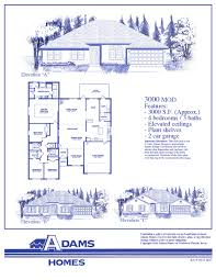 Florida Homes Floor Plans by Spring Hill Adams Homes