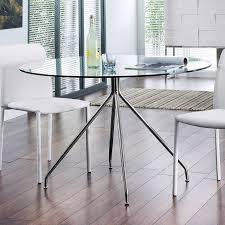 Small Glass Dining Room Tables Modern Glass Table In Small Dining Room Small Dining Tables