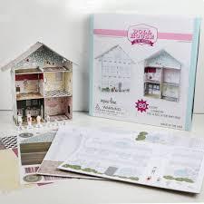 design your own dollhouse craft box kit minilou