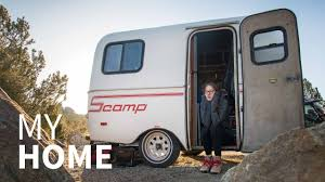 this is where i live 13ft scamp trailer youtube