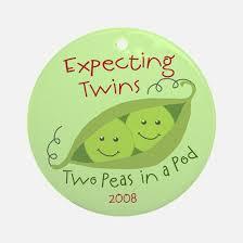 two peas pod ornament cafepress
