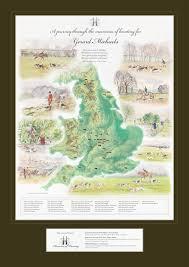 hunt maps memories bespoke maps