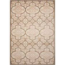 Nourison Grid Kitchen Rug Nourison 10 X 13 Outdoor Rugs Rugs The Home Depot