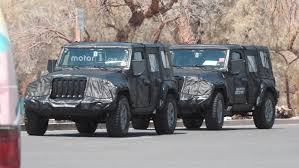 jeep bandit 2017 all new 2018 jeep wrangler spied in testing