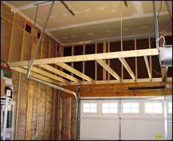building a loft in garage garage loft storage garage loft with safety railing double access