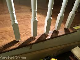 How To Build A Staircase Banister Upstairs Hallway 2 Hardwood Spindles