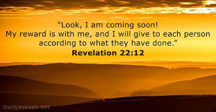 revelation 22 12 english standard version bible verse