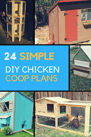 Backyard Chicken Coops Plans by Chicken Coop Plans 24 Simple Designs You Can Build Yourself