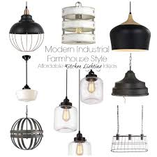 what is the best lighting for kitchens affordable farmhouse kitchen lighting options the palette muse