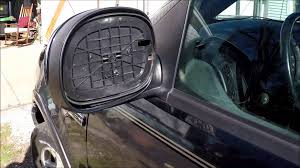 ford explorer mirror replacement cheapasshack how to replace side rear view mirror glass unheated