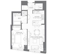 floors plans one bed floor plans millennium tower boston rentals