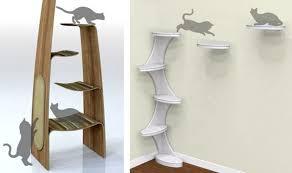modern cat climbing shelves sauder modular modern cat tower the