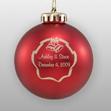 personalized wedding christmas ornament personalized wedding favors in bulk howe house limited editions
