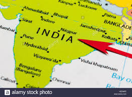 Calcutta India Map by India Map Red Stock Photos U0026 India Map Red Stock Images Alamy