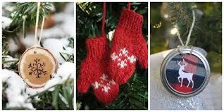 easy paper scrap diy christmas ornaments mod podge rocks use
