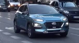 spy pics new hyundai kona suv international scene autocar