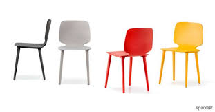 colourful stacking cafe chairs hard wearing contract chairs