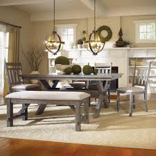 Rustic Dining Room Set Dining Tables Rustic Grey Dining Table Set Distressed Dining