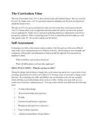 Curriculum Vitae Cover Letter Example Career Cover Letter Resume Cv Cover Letter