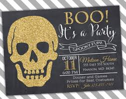 Halloween Birthday Invitation by Halloween Party Invitation Halloween Birthday Party