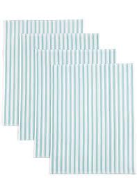 scotch green and white stripe dish towel kitchen towels tea towels linen cotton terry dish cloths m s
