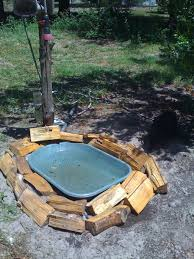 diy bird bath fountain do it your self