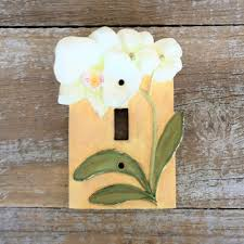 Shop Floral Switch Plates on Wanelo