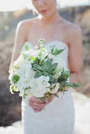 wedding flowers roses all white wedding bouquets brides