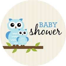 baby shower boy baby shower decorations for boys 25 x 5 25 circle card baby