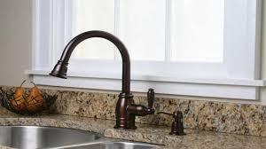 bronze kitchen sink faucets oil rub bronze kitchen faucet granite