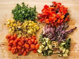 Pasta Salad by Grilled Vegetable Pasta Salad Budget Bytes
