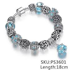european charm bracelet beads images European authentic beads jewelry silver plated owl beads pink jpg