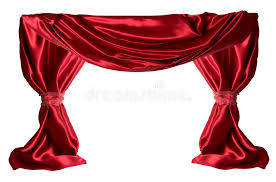 red curtains royalty free stock photography image 2028077