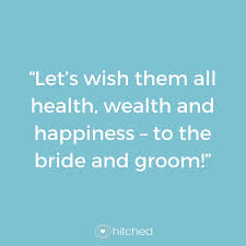 Wishing Bride And Groom The Best How To End Your Best Man U0027s Speech Hitched Co Uk