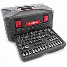 husky tool chest home depot black friday husky mechanics tool set 268 piece h268mts the home depot