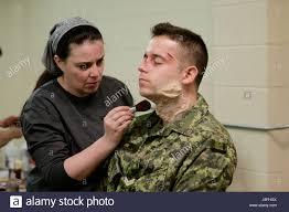 special effects makeup special effects makeup artist macdonald applies prosthetic