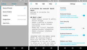 text android 7 distraction free android text editors compared which is best