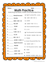 best 25 expanded form worksheets ideas on pinterest standard