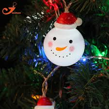 aliexpress buy snowman string lights led
