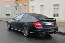 brabus brabus bullit coupe 800 is a mercedes c63 amg coupe with a v12 on